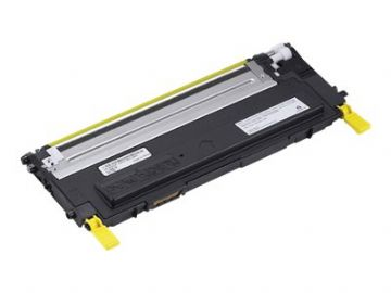 Dell 1230 / 1235 - M127K Yellow Refurbished Toner Cartridge 593-10496